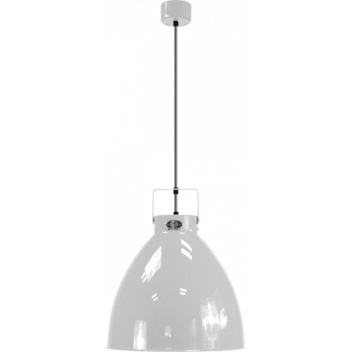 IN STOCK ! Jieldé Augustin A360 Pendant lamp Silver Grey RAL9006 SHINY / Interior : WHITE