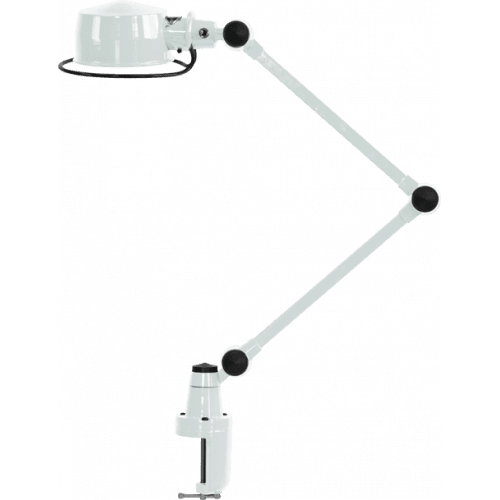 IN STOCK ! Jieldé Lak collection L4040 Clamp lamp White SHINY