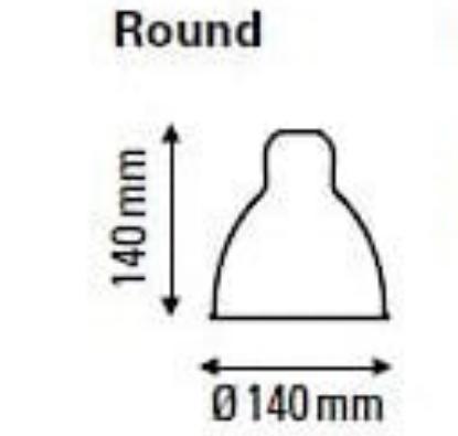 réflécteur cone 140/140