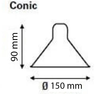 réflécteur cone 90/150