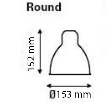 réflécteur cone 152/153